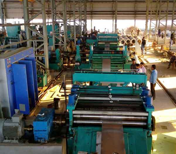Slitting Line - 2000 X 3.5MM